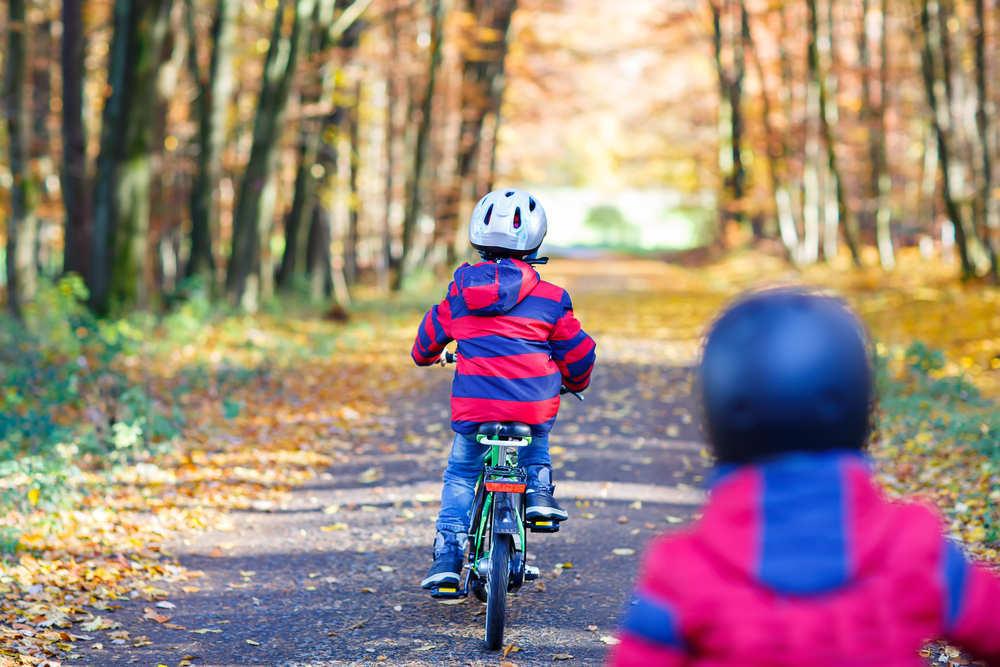 El ciclismo en los niños