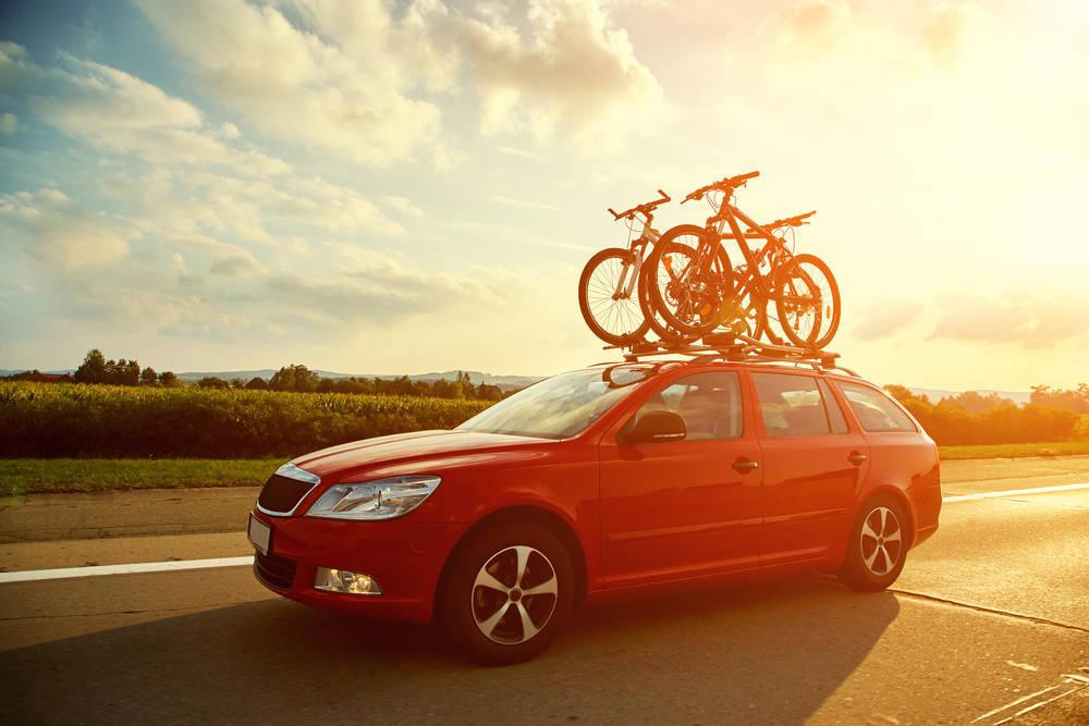 La bicicleta segura en el coche