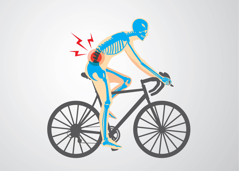 Cómo evitar los dolores de espalda típicos de los ciclistas