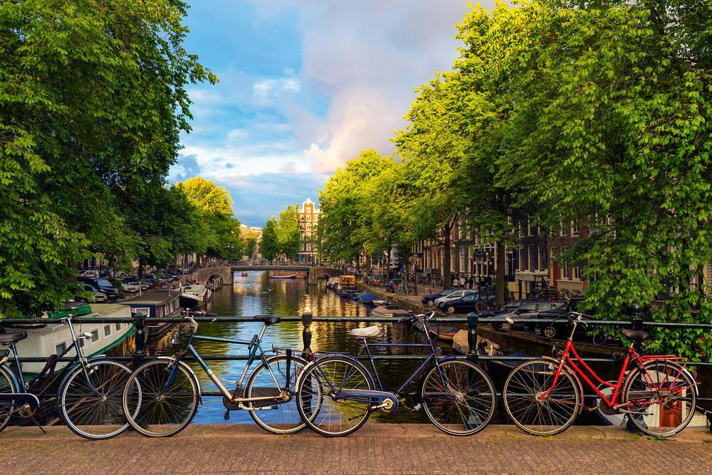 Ámsterdam, una ciudad Bikefriendly