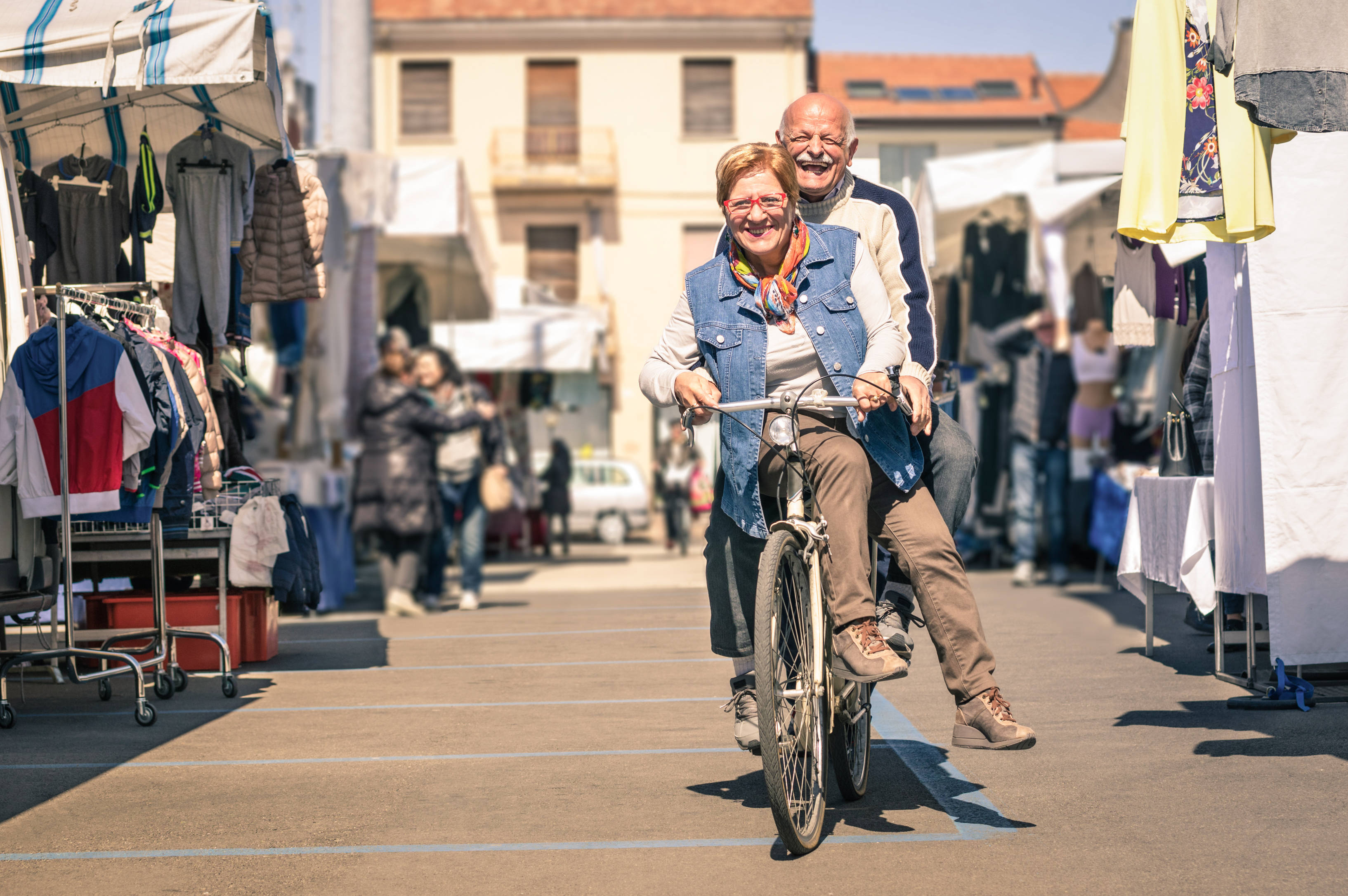 El ciclismo también es para los más mayores